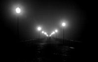 Pier Into The Fog [Night]