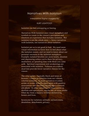 Artist's Statement for the Phantom Gallery Oceanside